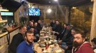 Γεύμα της ανδρικής ομάδας στον Πευκιά
