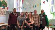 Eπίσκεψη στο Ειδικό Σχολείο Συκιάς από αντιπροσωπεία του Ηρακλή και του ΑΟΞ